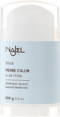 Pierre d'Alun déodorant stick naturel - Najel Alumstone Deodorant Stick