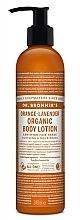 Parfums et Produits cosmétiques Lotion bio pour mains et corps, Orange et Lavande - Dr. Bronner's Orange Lavender Organic Hand & Body Lotion