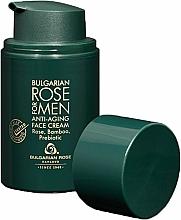Parfums et Produits cosmétiques Crème à l'huile de rose pour visage - Bulgarian Rose For Men Anti-Agin Face Cream
