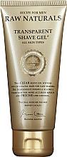 Parfums et Produits cosmétiques Gel de rasage transparent - Recipe For Men RAW Naturals Transparent Shave Gel