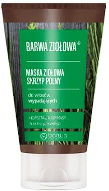 Masque anti-chute naturel au prêle pour les cheveux - Barwa Color Herbal Mask