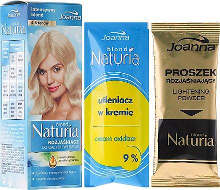 Kit de décoloration pour cheveux ( crème oxydante + poudre éclaircissante ) - Joanna Hair Naturia Blond