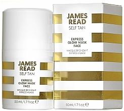 Parfums et Produits cosmétiques Masque bronzant pour visage - James Read Self Tan Express Glow Mask Tan Face