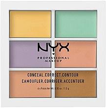 Parfums et Produits cosmétiques Palette de correcteurs colorés pour visage - NYX Professional Makeup Color Correcting Palette