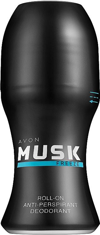 Avon Musk Freeze - Déodorant roll-on anti-transpirant — Photo N1