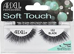 Parfums et Produits cosmétiques Faux-cils aux pointes effilées - Ardell Soft Touch Eye Lashes Black 152