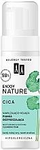 Parfums et Produits cosmétiques Mousse nettoyante pour visage - AA Enjoy Nature Cica Moisturising&Soothing Cleansing Foam