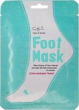 Parfums et Produits cosmétiques Masque-chausettes à l'urée et huile de menthe poivrée - Cettua Moisturizing Foot Mask