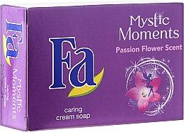 Parfums et Produits cosmétiques Savon crème au beurre de karité - Fa Mystic Moments Shea Butter & Passion Flower Cream Soap