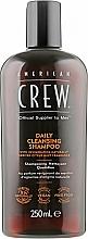 Parfums et Produits cosmétiques Shampooing au menthol - American Crew Daily Cleansing Shampoo