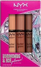 Parfums et Produits cosmétiques Coffret cadeau - Diamond & Ice Please! Butter Gloss Trio Gift Box 2 (lip/gloss/3x8ml)