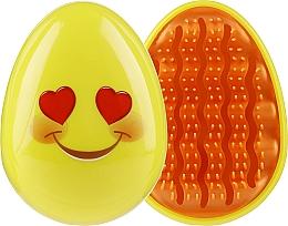 Parfums et Produits cosmétiques Brosse à cheveux compacte 3002W, souris avec lunettes - IDC Institute Design Smile Brush