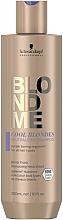 Parfums et Produits cosmétiques Shampooing anti-jaunissement - Schwarzkopf Professional BlondMe Cool Blondes Neutralizing Shampoo