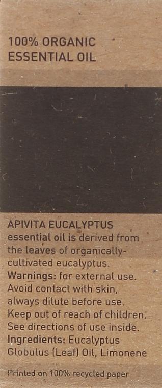 Huile essentielle d'eucalyptus bio - Apivita Aromatherapy Organic Eucalyptus Oil  — Photo N3