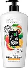 Parfums et Produits cosmétiques Baume végan pour corps, Mangue et Avocat - Eveline I Love Vegan Food Body Balm