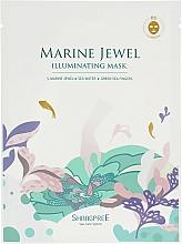 Parfums et Produits cosmétiques Masque tissu aux algues vertes pour visage - Shangpree Marine Jewel Illuminating Mask
