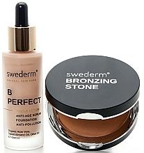 Parfums et Produits cosmétiques Swederm - Coffret (bronzer/13g + fond de teint/30ml)