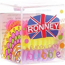 Parfums et Produits cosmétiques Lot de 3 élastiques à cheveux, 3,5 cm - Ronney Professional S6 MAT