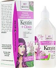 Parfums et Produits cosmétiques Sérum à la kératine et caféine pour cheveux - Bione Cosmetics Keratin + Quinine Stimulating Massaging Hair Serum