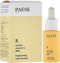 Parfums et Produits cosmétiques Sérum éclaircissant et rajeunissant à la vitamine C pour visage - Paese Vitamin C Brightening Rejuvenating Serum