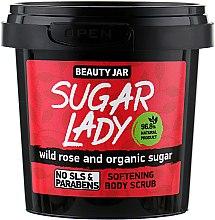 Parfums et Produits cosmétiques Gommage adoucissant à la rose sauvage et sucre bio pour corps - Beauty Jar Softening Body Scrub