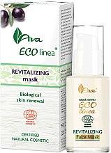 Parfums et Produits cosmétiques Masque naturel aux olives et pépins de raisin pour visage - Ava Laboratorium Eco Linea Revitalizing Face Mask
