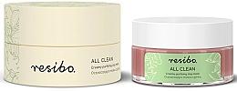 Parfums et Produits cosmétiques Resibo All Clean Creamy Purifying Mask - Masque à l'argile rose et extrait de grenade pour visage