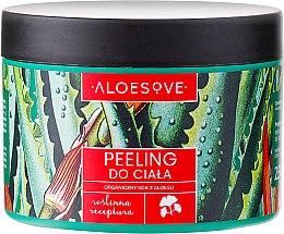 Parfums et Produits cosmétiques Gommage corporel au jus d'aloe vera bio - Aloesove
