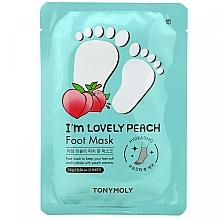 Parfums et Produits cosmétiques Masque pour pied - Tony Moly I'm Lovely Peach Foot Mask