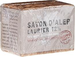 Parfums et Produits cosmétiques Savon d'Alep à l'huile de laurier 12% - Tade Aleppo Laurel 12% Soap 12%