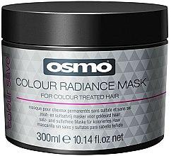 Parfums et Produits cosmétiques Masque sans sel ni sulfate pour cheveux - Osmo Colour Save Colour Radiance Mask