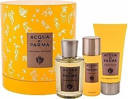 Parfums et Produits cosmétiques Acqua Di Parma Colonia Intensa - Coffret (eau de Cologne/100ml + gel douche et shampooing/75ml + déodorant/50ml)