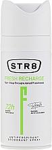 Parfums et Produits cosmétiques Spray déodorant anti-transpirant 72h - STR8 Fresh Recharge Antiperspirant Deodorant Spray