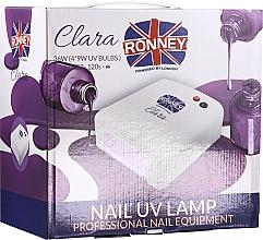 Parfums et Produits cosmétiques Lampe UV, violet clair - Ronney Profesional Clara UV 36W (GY-UV-818) Lamp