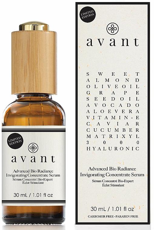 Sérum concentré à l'extrait de caviar pour visage - Avant Advanced Bio Radiance Invigorating Concentrate Serum — Photo N1
