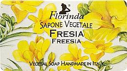 Parfums et Produits cosmétiques Savon naturel artisanal, Freesia - Florinda Sapone Vegetale Freesia
