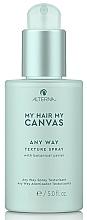 Parfums et Produits cosmétiques Spray au charbon blanc pour cheveux - Alterna My Hair My Canvas Any Way Texture Spray Mini
