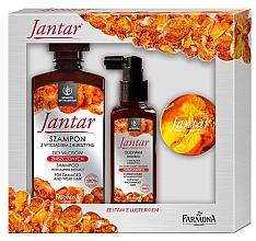 Parfums et Produits cosmétiques Set cheveux - Farmona Jantar (shampooing/330ml+après-shm/100ml+miroir)