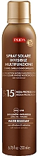 Parfums et Produits cosmétiques Spray solaire invisible multi-fonctions SPF 15 - Pupa Multifunction Invisible Sunscreen Spray
