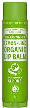 Parfums et Produits cosmétiques Baume à lèvres bio Citron et Lime - Dr. Bronner's Lemon & Lime Lip Balm