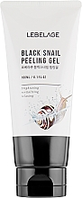 Peeling gel à la bave d'escargot pour visage - Lebelage Black Snail Peeling Gel — Photo N2