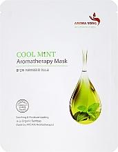 Parfums et Produits cosmétiques Masque en tissu visage à la menthe - Aroma Yong Aromatherapy Mask Cool Mint
