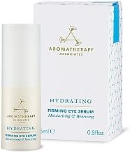 Parfums et Produits cosmétiques Sérum au thé noir pour contour des yeux - Aromatherapy Associates Hydrating Firming Eye Serum