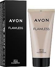 Parfums et Produits cosmétiques Fond de teint liquide - Avon Flawless Liquid Foundation SPF15