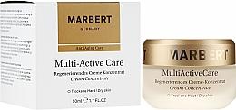 Parfums et Produits cosmétiques Crème-concentré à l'huile d'arachide pour visage - Marbert Anti-Aging Care MultiActive Care Regenerating Cream Concentrate