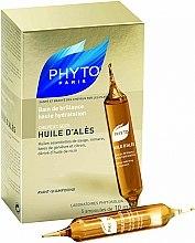 Parfums et Produits cosmétiques Huile d'Alès bain de brillance haute hydratation, 5 ampoules - Phyto Huile D'Ales