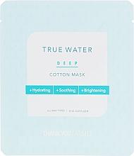Parfums et Produits cosmétiques Masque en tissu hydratant, apaisant et éclaircissant - Thank You Farmer True Water Deep Cotton Mask