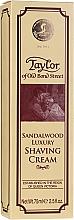 Parfums et Produits cosmétiques Crème à raser au bois de santal (tube) - Taylor Of Old Bond Street Sandalwood Luxury Shaving Cream
