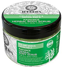 Parfums et Produits cosmétiques Gommage aux musc islandais et amla pour corps - Natura Siberica Iceveda Iceland Moss&Indian Amla Radiance Herbal Body Scrub
