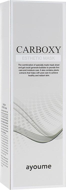 Masque à la carboxythérapie pour visage - Ayoume Carboxy Esthetic Mask